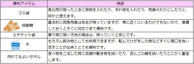 挿入_表_遠足